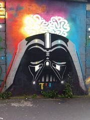 Darth. Vader #darthvader #darkvador #ruedelourcq (ttestelle) Tags: darthvader darkvador ruedelourcq