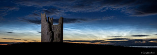 Mid-Summer Sky - Noctilucent Cloud, Lilburn Tower, Northumberland