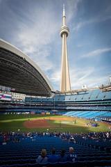 Blue Jays Stadium Pre Game (bradsphoto) Tags: blue jays stadium baseball mlb sky cntower canada toronto