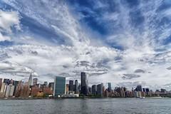 New York skyline (marko.erman) Tags: city sky panorama newyork building skyline architecture clouds buildings cityscape skyscrapers unitedstates manhattan sony unitednations eastriver chrysler