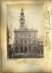 General Post Office Sydney NSW, side view from George Street