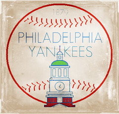 Philadelphia Yankees Logo (Napoleon (Vengeful Potentate)) Tags: history philadelphia sports poster logo baseball yankees alternate
