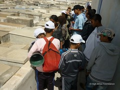 12 May - visit to Christian and Jewish cemeteries 11 (High Atlas Foundation) Tags: cemeteries cemetery community respect tolerance jewish coexistence development essaouira cultural sustainable preservation fha haf civilsociety jewishmuslim capacitybuilding participatorydevelopment