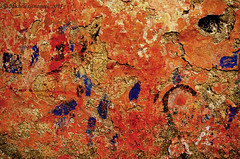 Abstract (Michele Ginammi) Tags: door abstract color colour muro rust colore stains abstraction astratto ruggine macchie astrazione