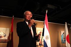 Excmo. Sr. Embajador de Paraguay (Instituto Cervantes de Tokio) Tags: art gallery arte galeria exhibition conference conferencia institutocervantes  exposicin  exhibicin