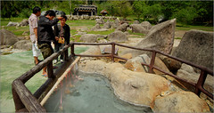 Boiling eggs at Fang Hot Spring (Roger L. Sizemore) Tags: rice monsoon hotspring fang chiangdao doiluang