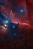 The Horsehead Nebula in Orion (Astroshed) Tags: space nebula astrophotography orion astronomy ngc2024 ic434 horsehead deepspace horseheadnebula hydrogenalpha narrowband ngc2023 emissionnebula ic435 astrometrydotnet:status=solved visipix mappedcolor astrometrydotnet:version=14400 mappedcolour astrometrydotnet:id=alpha20130567008774 astroshed