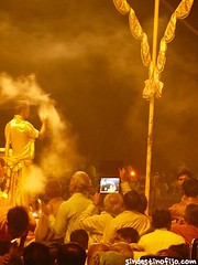 "Ganga Aarti • <a style=""font-size:0.8em;"" href=""http://www.flickr.com/photos/92957341@N07/8751517167/"" target=""_blank"">View on Flickr</a>"