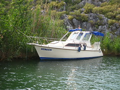 Srgn boat (Radu Bucuta) Tags: holiday turkey river easter dalyan 2013 turcia