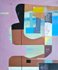 Jim Harris: Boreas (Jim Harris: Artist.) Tags: abstract art japan modern painting tokyo paint artist arte panel contemporary kunst jim oil  nippon