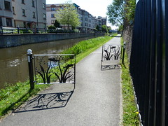 Union Canal Edinburgh (13) (Royan@Flickr) Tags: bridge trees water club boats canal edinburgh path union sunny cycle rowing boathouse waterways 20130525