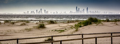 Coolangatta Vista (iamChristo) Tags: city sea seascape beach canon landscape rebel coast sand kiss dune australia shore queensland x4 goldcoast 550d t2i 55250mm