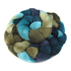 The Bird Girl - Corriedale (Into The Whirled) Tags: wool silk merino spinning fiber bfl itw masham intothewhirled