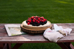 berry no bake cheesecake (Elizabeth.Mary) Tags: summer dessert photography picnic bake foodstyling
