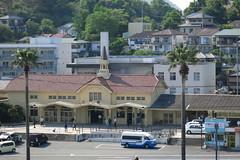 Station Misumi (tomosang R32m) Tags: japan canon pyramid railway jr powershot kumamoto atrain s110  uki misumi powershots110 shiranui   185  a    seapyramid