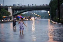 Toronto floods July 8, 2013 (tomms) Tags: toronto storm rain weather train flooding july rainfall floods overflow donriver