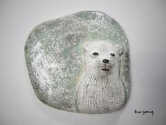 Dream of the polar bear (danahaneunjeong) Tags: bear ceramic polarbear polar icebear