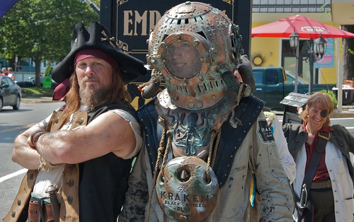 Pirate and diver
