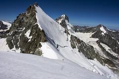 OberGabelhorn (4063m) (sylweczka) Tags: mountains alps switzerland climb tour zermatt hochtour obergabelhorn sylweczka rotchornhut