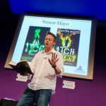 Simon Mayo takes to the stage