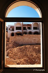 Sea View? (BenChapmanphoto) Tags: blue sea sky urban holiday colour building window stone concrete four site saturated view side egypt sharmelsheikh olympus el explore micro exploration sheikh find sharm csc thirds urbex m43 epl1