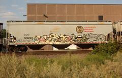 JIST (The Braindead) Tags: art minnesota train bench photography graffiti painted tracks minneapolis rail explore beyond the