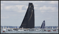 Rolex Fastnet Race 2013 (leightonian) Tags: uk island boat sailing unitedkingdom yacht isleofwight solent gb isle cowes wight iow fastnetrace rolexfastnetrace