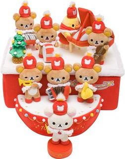 拉拉熊 聖誕歡樂鼓笛樂隊