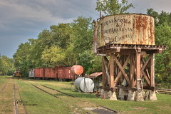 IMG_1419 (jackgrayphotography) Tags: train watertower arkansas eurekasprings jackgrayphotography