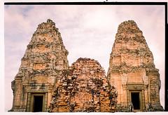 Two doors (Sacha 2D) Tags: leica asia cambodia roadtrip siemreap filmphotography leicam4p leicaelmarm50mmf28 tudorcolor lensblr photographersontumblr tudorcolorxlx200iso sacha2d