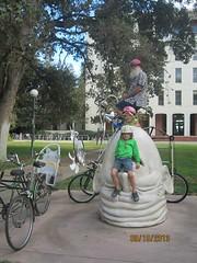 The  wee ones and The Egg & the I (whymcycles) Tags: bike bicycle sam recycled tricycle rad bikes bici trike tandem schwinn bicyclette velo fahrrad tadpole whimsical roue tallbike pushbike roues freakbike highbike whymcycle peterwmwagner peterwagner
