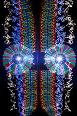 Tacky Mask 293 (tackyshack) Tags: light lightpainting reflection painting pond mask lp dlw lightpainter lightphotography monkeylight tackyshack tackymask rgbstrip digitallightwand ©jeremyjackson