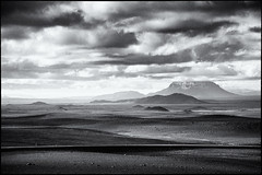 The road (RWYoung Images) Tags: road bw mountain canon landscape volcano lava iceland scenery ash rwyoung 5d3