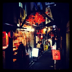 ร้านปิ้งย่าง ดื่มสาเก แถวชินจูกุ ^_^