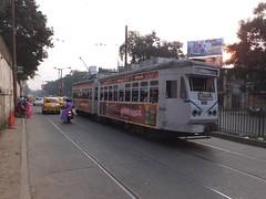 Calcutta 649 Diamond Habour Road (Guy Arab UF) Tags: road india public transport tram diamond company burn standard trams kolkata articulated calcutta 649 habour tramways alipore