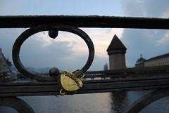 228 (mahfuz1961) Tags: river switzerland luzern lucerne chapelbridge kapellbrcke reuss