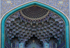 Imam mosque (vdehdari) Tags: light beautiful architecture canon circle rebel design asia iran geometry muslim decoration persia mosque ceiling  esfahan masjid islamic isfahan imam mosque perse    safavi esfehan safavid ispahan imammosque  impressedbeauty  mygearandme