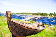 Kukkolaforsen (danhenriklunabba) Tags: river boat rapid kukkola