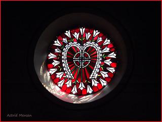 Detail st. Augustinuskirche in Nordhorn-