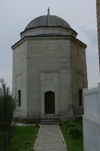 MUSTAFA PASHA`s MOSQUE - northern view of Mustafa Pasha`s mausoleum