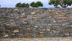 Stone Wall (RobW_) Tags: cemetery stone wall military january greece german crete western hania monday chania 2014 maleme jan2014 13jan2014