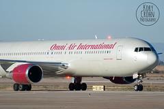 Omni 767-300ER N378AX (KoryC757) Tags: arizona phoenix gateway boeing mesa aza b767 iwa 767300er omniairinternational phxspotters n378ax