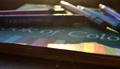 book of colors + love (joy.jordan) Tags: light color art texture love bokeh sunflare