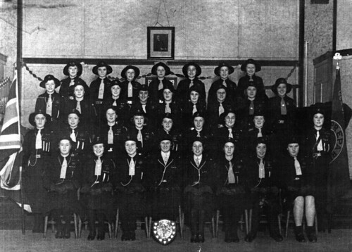 Girl Guides of Sighthill Church 1938