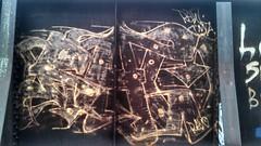 RAW (MINNESOTA MUNSTER) Tags: street old art minnesota train graffiti paint track raw can spot spray graff aerosol mn find mankato truss flickrandroidapp:filter=none