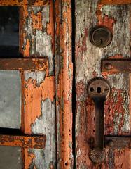 Warm welcome (hutchphotography2020) Tags: door wood old windows rot texture abandoned photography nikon northcarolina weatheredwood corrosion woodgrain peeledpaint httphutchphotography2020wordpresscom