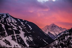 Pyramid peak near Aspen Colorado last night at sunset (tmo-photo) Tags: fav50 fav20 fav30 fav10 fav100 fav40 fav60 fav110 fav90 fav150 fav170 fav80 fav70 fav120 fav140 fav160 fav180 fav190 fav130 uploaded:by=flickrmobile flickriosapp:filter=nofilter