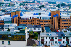 Forum House - Jersey Channel Islands (Jonathan Huelin) Tags: houses buildings town nikon jersey channelislands offices sthelier tiltshift d3000