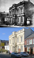 Town Hall, Wavertree, 1900s and 2014 (Keithjones84) Tags: liverpool oldliverpool thenandnow merseyside wavertree rephotography