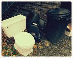 (rafalweb (moved)) Tags: television trash canon tv garbage junk bricks gimp toilet tire powershot garbagecan refuse g12 photoscape